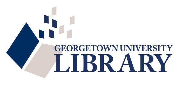 Resultado de imagen de georgetown university library logo